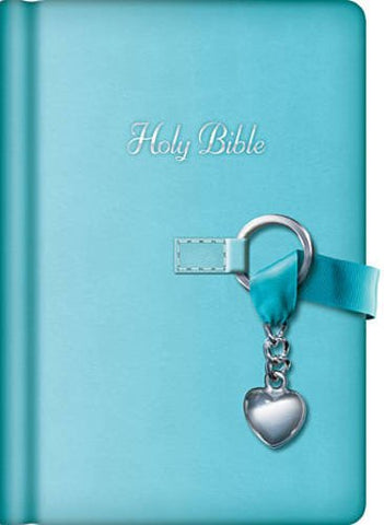 NKJV Simply Charming Bible (Blue Edition)