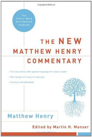 The New Matthew Henry Commentary (Hardcover)