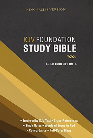 KJV Foundation Study Bible (Hardcover)