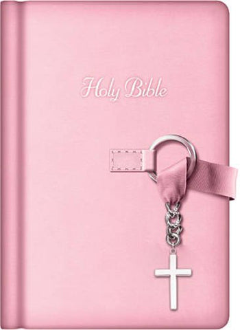 NKJV Simply Charming Bible (Pink Edition)