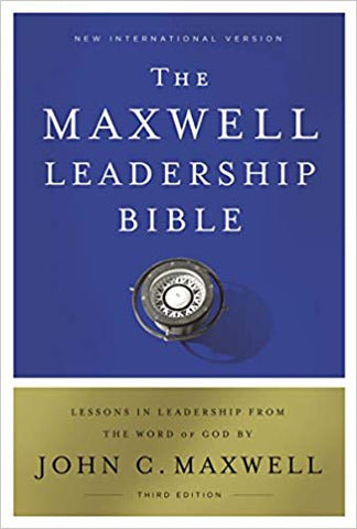 NIV Maxwell Leadership Bible - 3rd Edition (Hardcover)
