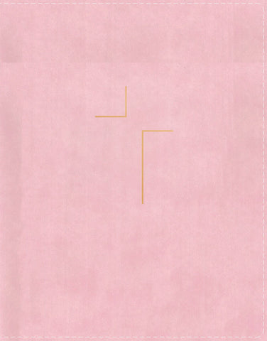 NIV The Jesus Bible (Hardcover, Leathersoft-over-Board, Pink)