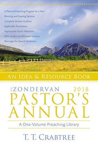 Zondervan Pastor's Annual 2018: An Idea and Resource Book