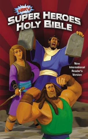 NIrV Super Heroes Holy Bible (Hardcover)