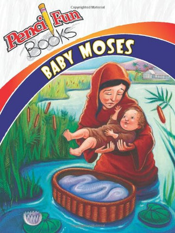 Pencil Fun Books: Baby Moses (Pack)