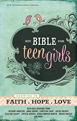 NIV Bible for Teen Girls (Hardcover)