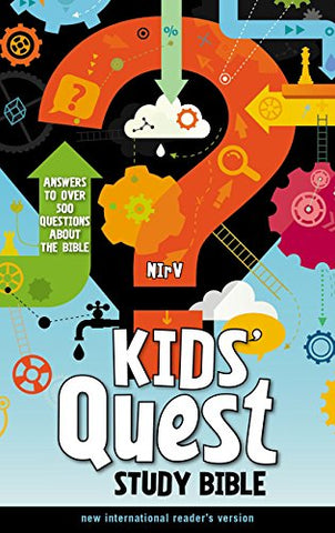 NIrV Kids' Quest Study Bible (Hardcover)