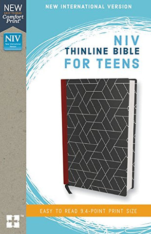 NIV Thinline Bible for Teens (Leathersoft, Black)