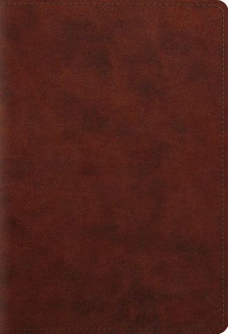 ESV Student Study Bible (Imtitation Leather, TruTone, Chestnut)