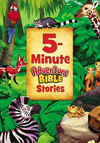 5-Minute Adventure Bible Stories (Hardcover)