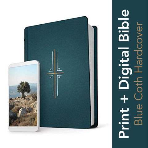 NLT Filament Bible (Hardcover, Cloth, Midnight Blue)