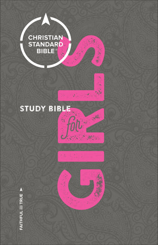 CSB Study Bible for Girls (Hardcover)