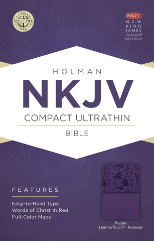 NKJV Compact Ultrathin Bible (Purple)