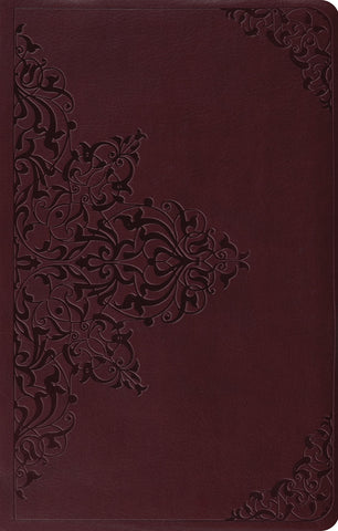 ESV Premium Gift Bible (Imitation Leather, TruTone, Chestnut, Filigree Design)