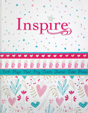 NLT Inspire Bible for Girls (Softcover)