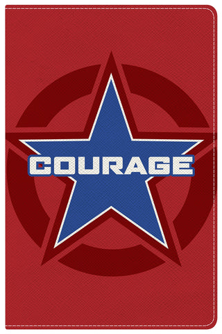NKJV Study Bible for Kids - Courage (LeatherTouch)