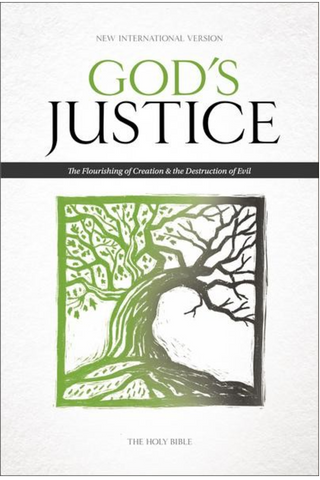 NIV God's Justice Bible (Hardcover)