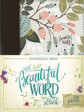 NIV Beautiful Word Bible (Cloth Over Board, Multi-color Floral)