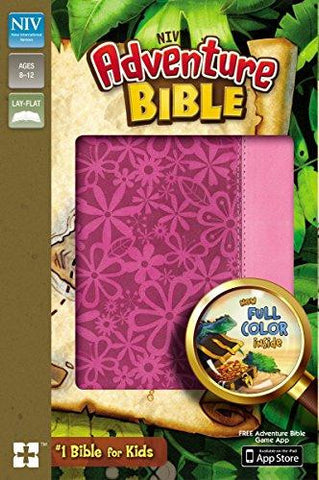 Adventure Bible NIV - Pink
