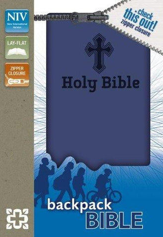 NIV Backpack Zipper Bible (Italian Duo-Tone™, Zipp)