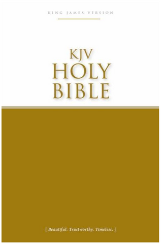 KJV Economy Bible (New Cover)