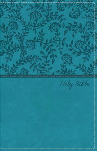 KJV Deluxe Gift Bible (Imitation Leather, Blue)