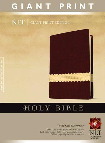 NLT Giant Print Bible (TuTone)