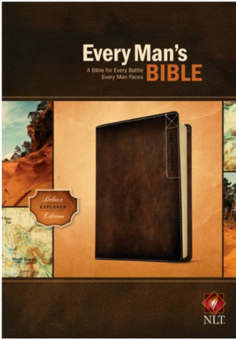 NLT Every Man's Bible Deluxe Explorer Edition