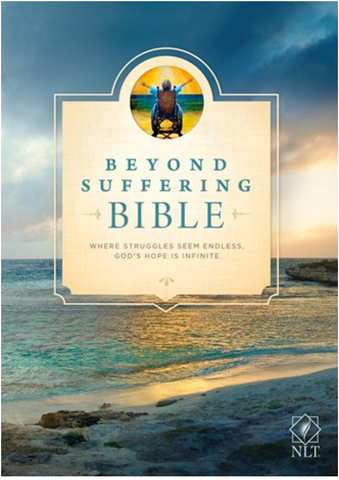 NLT Beyond Suffering Bible (Hardcover)