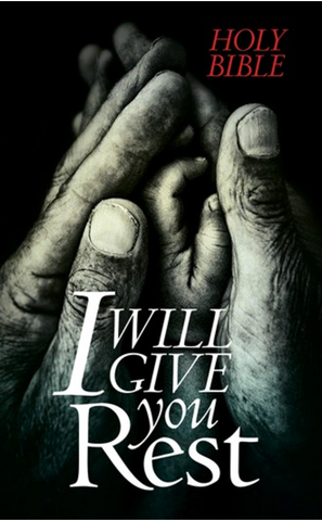 NLT I Will Give You Rest (Outreach Bible)