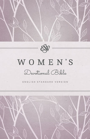 ESV Women's Devotional Bible (Hardcover, Purple)