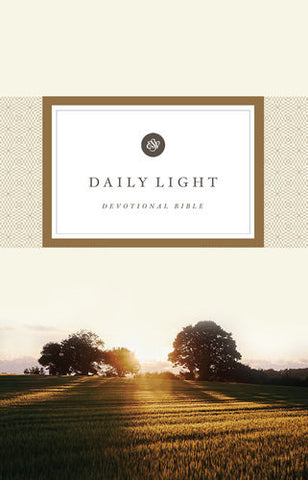 ESV Daily Light Devotional Bible (Paperback)