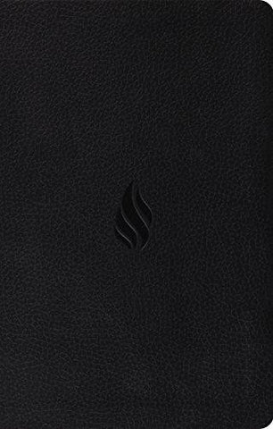 ESV Premium Gift Bible - TruTone, Midnight, Flame Design