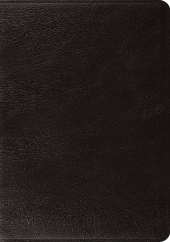 ESV Systematic Theology Study Bible (Leather Bound, Black)