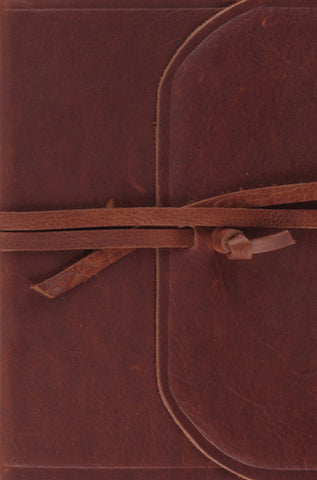ESV Compact Bible (Natural Leather with Strap)