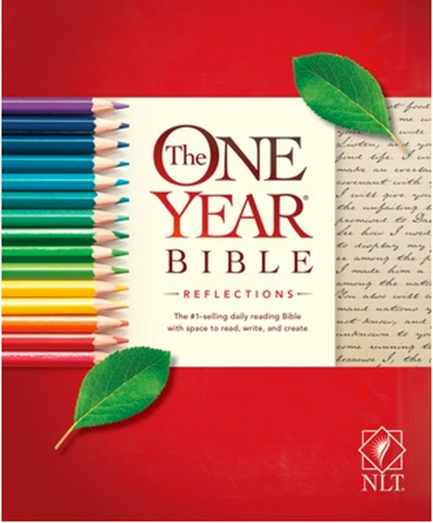 NLT The One Year Bible Reflections (Softcover)