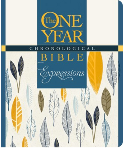 NLT The One Year Chronological Bible Expressions (Hardcover)