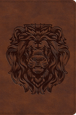 ESV Compact Bible (TruTone, Royal Lion)
