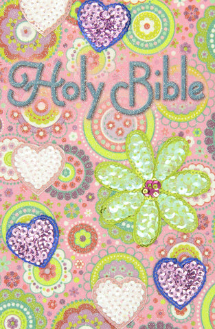 ICB Sequin Bible (Flexcover, Pink)
