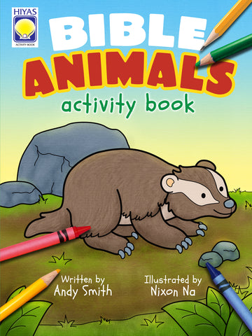 Bible Animals Activity Book
