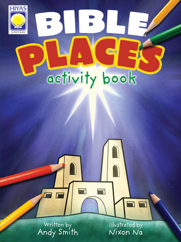 Bible Places Activity Book
