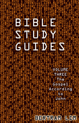 Bible Study Guides Volume 3