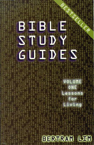 Bible Study Guides Volume 1