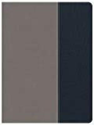 CSB Apologetics Study Bible for Students (LeatherTouch, Gray/Navy)