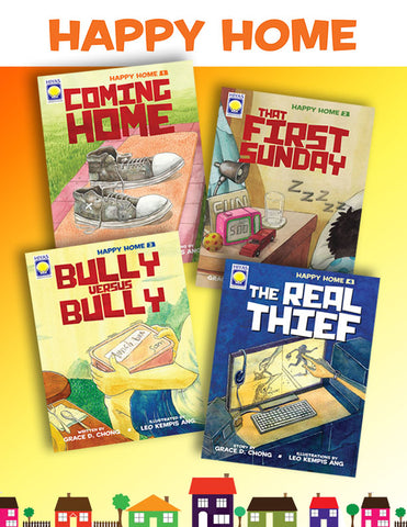 Happy Home Book Series Bundle