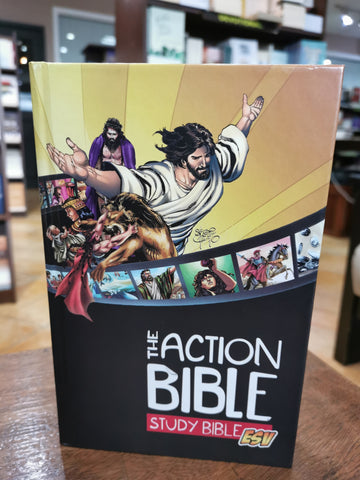 ESV Action Bible Study Bible ESV (Hardcover)