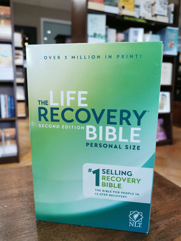 NLT Life Recovery Bible Personal Size (Paperback)