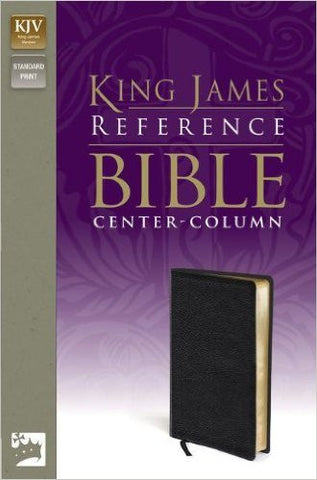 KJV Reference Bible - Leather-Look, Black