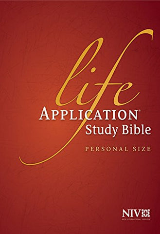 Life Application Study Bible NIV Personal Size HC