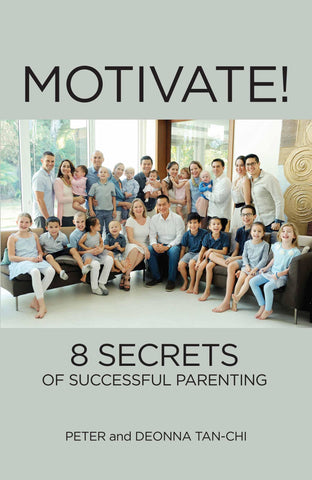 Motivate!: 8 Secrets of Successful Parenting (PRE-ORDER)